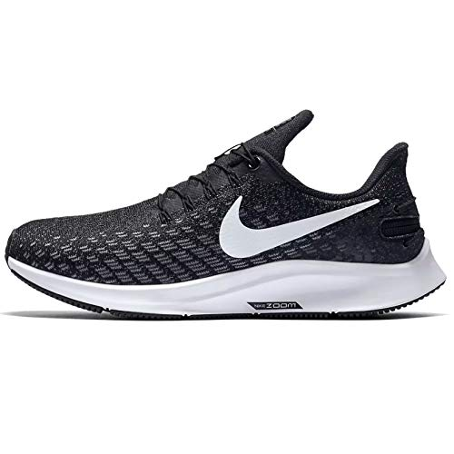 Nike FlyEase Air Zoom Pegasus 35 Black/White/Gunsmoke/Oil Grey 10 B (M)