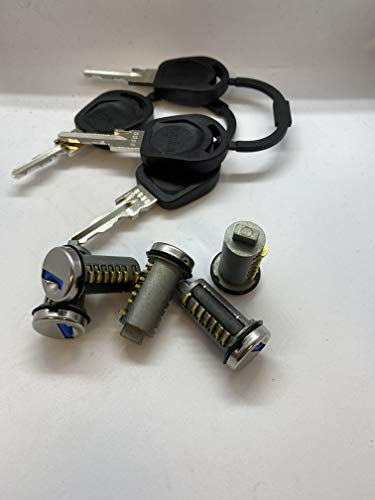 CTA Dichtungen 1x-Steckzylinder-mit-2x-Schluessel-System-3-Schliesszylinder-Wohnwagen-9850-U100