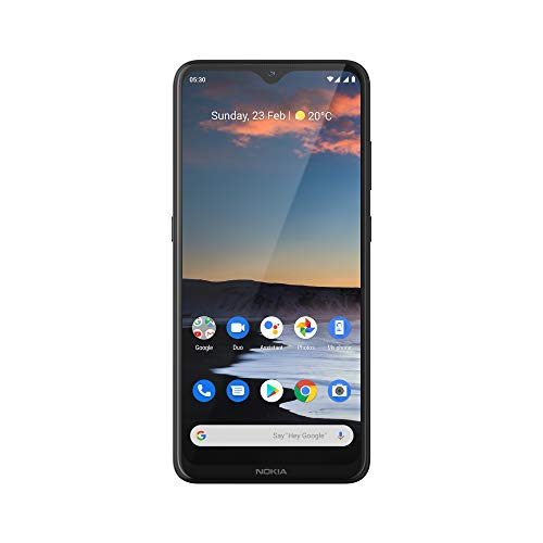Nokia 5.3 Fully Unlocked Smartphone with 6.55' HD+ Screen, AI-Powered Quad Camera and Android 10, Charcoal, 2020 (AT&T/T-Mobile/Cricket/Tracfone/Simple Mobile)