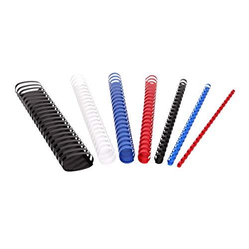 TTO - Canutillos de plástico (19 mm), color azul