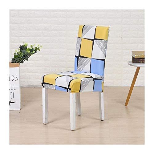 ZNYD Cubiertas para sillas Spandex Silid Color Escritorio Asiento Asiento Asiento Asignación para Banquete Hotel Boda Tamaño Universal 1pc (Color : Space, Talla : Universal Sizes)