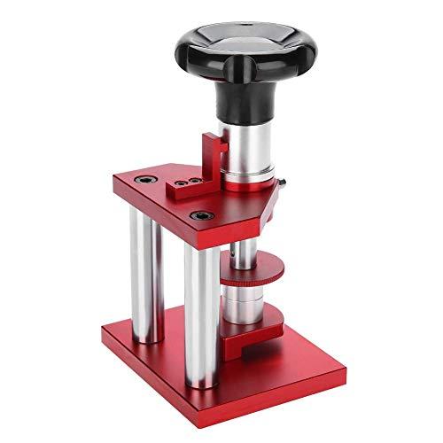 Hgedz Uhrenpresse, Uhr zurück Fall Schraube Typ näher Uhrmacher Presse Tool Set professionelle Uhr Kristall Lünette Presse Uhrmacherwerkzeuge