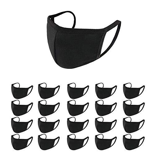 Staubmaske Gesichtsmaske Mundmaske, Wiederverwendbare Waschbare Outdoor Unisex Maske, Anti-Verschmutzung Reisen Outdoor Radfahren Gesichtsmaske (20)