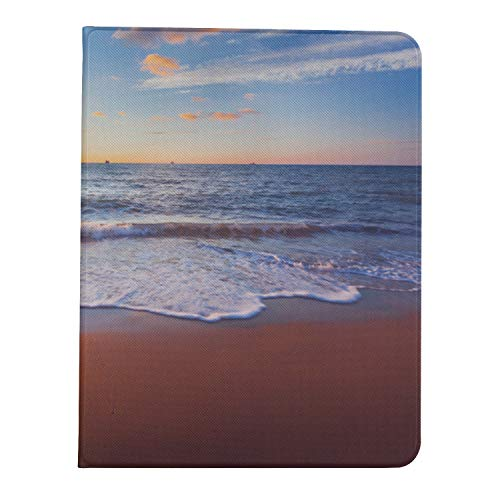 AQQA Case For Ipad Pro 11 Inch 2nd & 1st Generation 2020/2018 IpadPro11CaseForWomen Tropical Summer Beach Scenery Sea IpadPro11MagneticCover Support Ipad 2nd Gen Pencil Charging