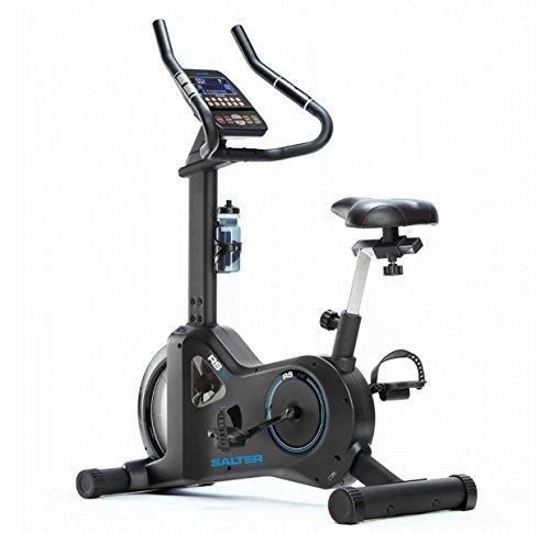 SALTER Bicicleta RS-24 programas de Entrenamiento, Soporte para móvil, Volante Equivalente a 22kg, semiprofesional