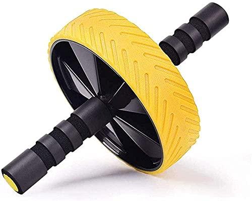 Attrezzatura fitness con ruote configurabili e impugnatura antiscivolo per esercizi addominali