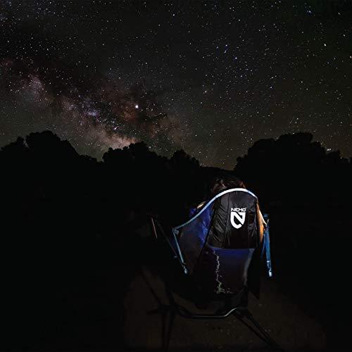 Nemo Stargaze Recliner Luxury Camp Chair, Sedona/Smoke