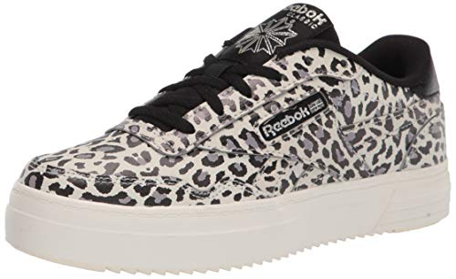 Reebok Women's Membership MEMT Sneaker, Animal Print/Dusky/Chalk/Flint Grey Metallic, 7.5 thumbnail
