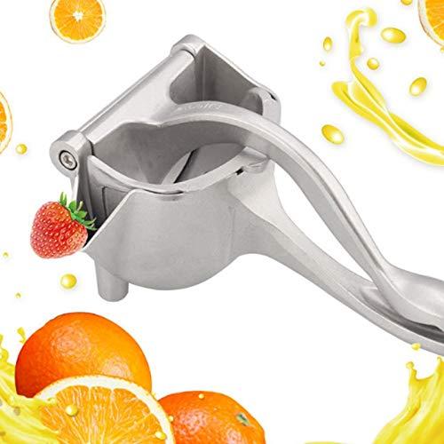 BERNIE ANSEL Manual Fruit Press Juicer, Heavy Duty Single Press Lemon Squeezer Premium Quality Metal Aluminum Alloy Hand Juicer Fruit Squeezer for Lemon, Orange, Grape1 Pack