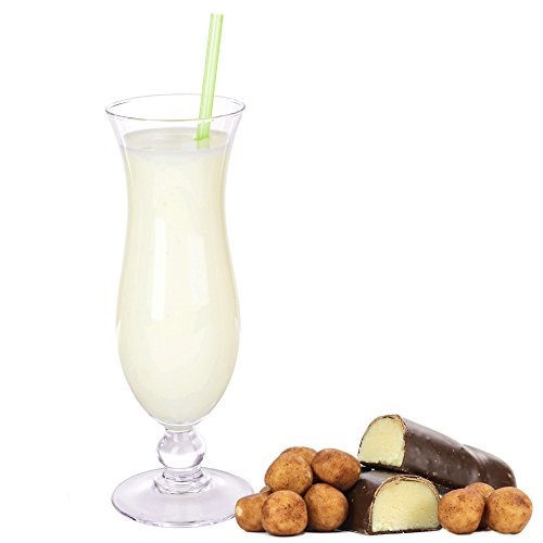 Marzipan Geschmack Eiweißpulver Milch Proteinpulver Whey Protein Eiweiß L-Carnitin angereichert Eiweißkonzentrat für Proteinshakes Eiweißshakes Aspartamfrei (1 kg)