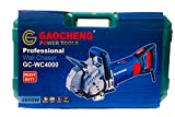 CAZAR GAOCHENG GC-WC4000 4600 Watts 5000 RPM 135MM Electric Wall Chaser with Laser Guide Groove Cutting Slotting Machine with 7 Blades
