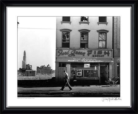 ポスター メリーズ コレクション ニューヨーク ブルックリン 1961年 額装品 ウッドハイグレードフレーム(ブラック)