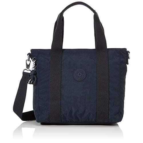 Kipling ASSENI Mini, Top-Handle Bags Donna, Blue Blue 2, 14x33x21 cm