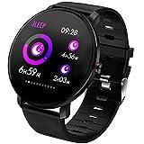 Montre Intelligente Bluetooth Smartwatch Sport Smart Bracelet connectée Etanche...