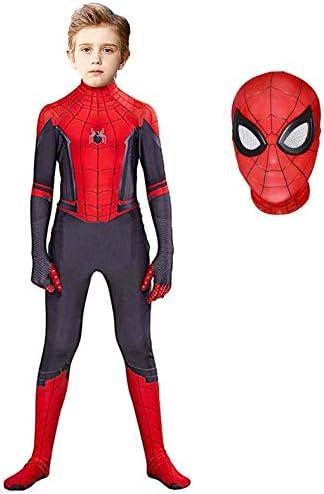 Superhero Costume Bodysuit for Kids Spandex Zentai Halloween Cosplay Jumpsuit 3D Style Kids product image