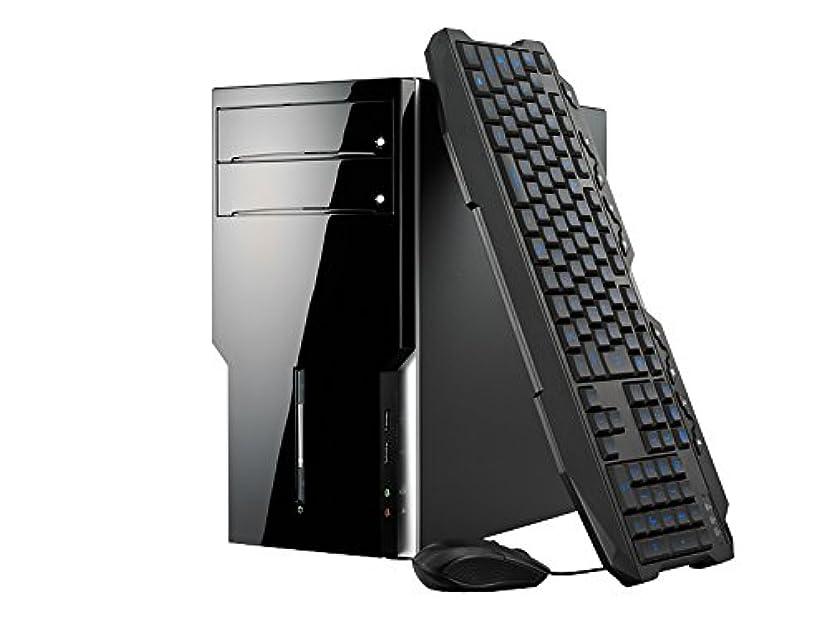 カスケード幾分世界的にmouse ゲーミング デスクトップパソコン LM-R5X08SHG5ZA/Ryzen5 1500X/1050/8GB/240GB/Win10