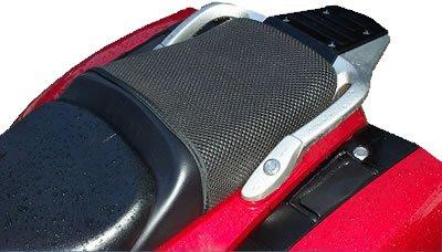 Triboseat stoelbekleding voor passagiers, antislip, zwart, compatibel met Honda Pan European ST1300 (2002-2017)