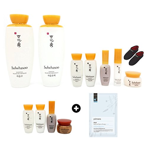 SULWHASOO First care Essential DUO SPECIAL SET + Special gifts (Travel kit, mask)