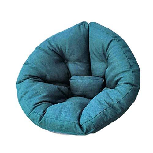 Chaises Longues canapé Chaise Longue canapé de Loisirs Bean Bag Dossier Balcon Chambre à Coucher Loisirs Portatif 8 Couleurs 82 * 70 * 60cm (Couleur : D)