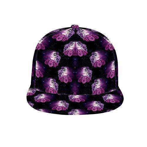 XIONGXIONG Unisex Baseball Cap Mesh Trucker Hat Caps for Men Women Adjustable Strapback - Skeleton Universe Pillar Candle