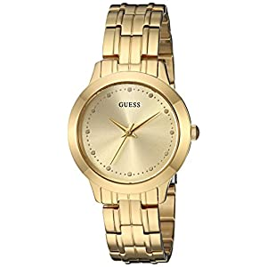 GUESS Women's Stainless Steel Petite Casual Watch