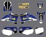 Adhesivo de Motocross Modificado Gráficos amp;Antecedentes de la Etiqueta engomada for Yamaha YZ250F YZ450F YZF250 YZF450 2003 2004 2005 YZF 250 450 YZ 250F 450F