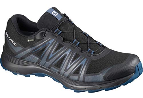SALOMON Shoes XA Sierra GTX Black/Ebony/DARKDE Black/Ebony/Dark Denim - 9/43