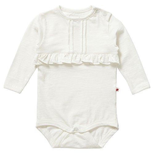 Piccalilly, Mameluco con Mangas largas, Jersey de algodón orgánico, niñas, Blanco