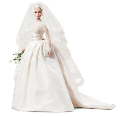 Barbie Collector – t7942 – Puppe Ankleidepuppe Grace Kelly – Braut