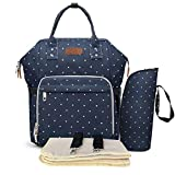 Winloop Baby Changing Bag Multi-Function Diaper Bag Water Repellent Diaper Tote Backpack Nappy Bag with...