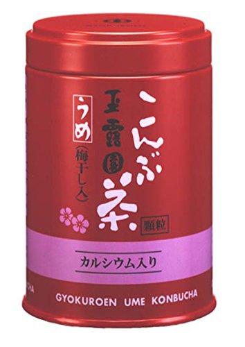 玉露園『梅こんぶ茶 缶入』