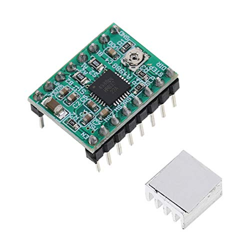 ULTECHNOVO 4 Piezas Controlador de Motor Paso a Paso Módulo de Controlador de Control de Impresora...