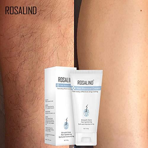 DAKERTA Natürliche Haar-Abbau-Creme für Männer u. Frauen-schmerzlose dauerhafte Haar-Abbau-Spray-leichte Bikini-Enthaarungs-Blase