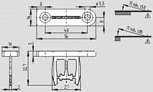Schmersal Betätiger AZM 161-B1 Betätiger für Positionsschalter mit getrenntem Betätiger 4030661283920