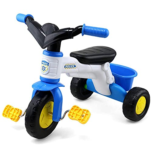 GPWDSN Triciclo Ligero Triciclo Triciclo para niños Triciclo eléctrico para niños Bicicleta de música Preescolar Andador de Tres Ruedas Cochecito Bicicleta Paseo eléctrico en Juguete Regalo