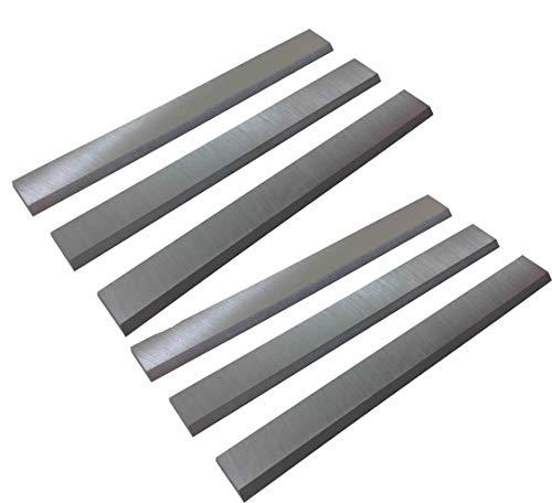 6-1/8-Inch Jointer Knives for Ridgid JP06000, JP0610, JP06101 Jointers Planer - 2 Set(6Pcs)