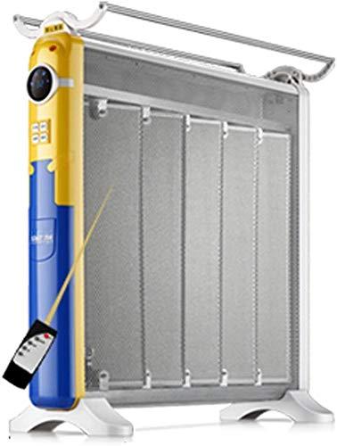 SCLTQ Calefactor para camping, calefactor de calefacción por infrarrojos, mando a distancia por infrarrojos, transacción remota para casa, oficina, 880 W, 1320 W, 2200 W