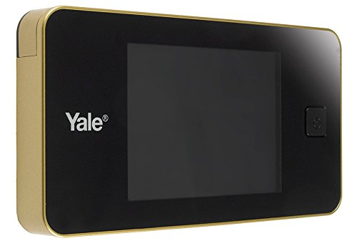 Yale 45-0500-1432-00-02-01 Spioncino Elettronico Con Display Digitale (Oro)