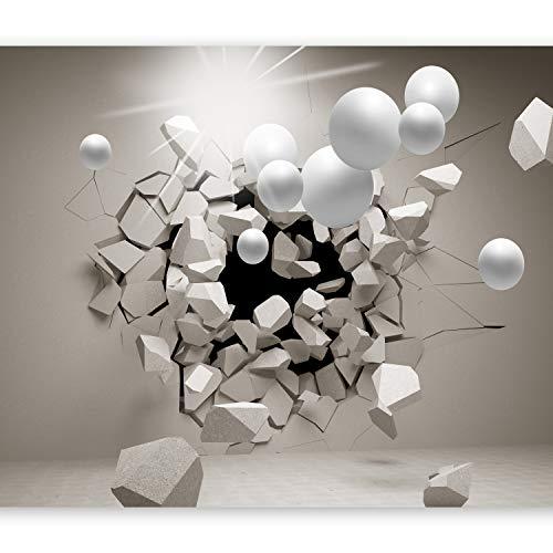 murando Papier peint intissé 300x210 cm Décoration Murale XXL Poster Tableaux Muraux Tapisserie Photo Trompe l'oeil Abstraction Sphere 3D a-C-0002-a-b