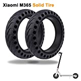LuYang Solid Tire Replacement for Electric Scooter Xiaomi m365 / gotrax gxl V2,8.5 inches Solid Tires Explosion-Proof Tire for Xiaomi Mijia M365 Electric Scooter/GOTRAX GXL V2 Scooter【Two Piece】