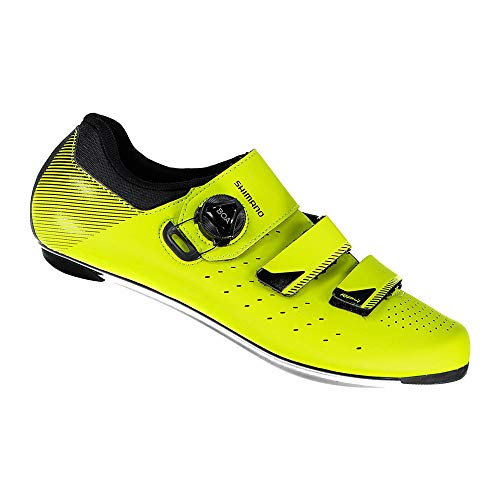 Shimano SH M Rd Rp4 Ama T-46, Zapatillas de Ciclismo de Carretera Hombre, Amarillo (Amarillo 000), 46 EU