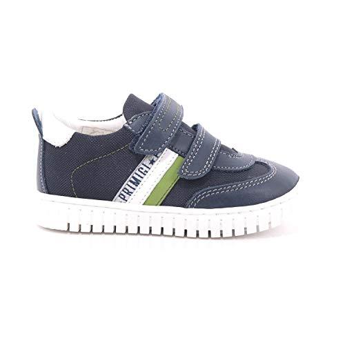 P R I M I G I Sneakers Bambino Blu Sport Tela (27)