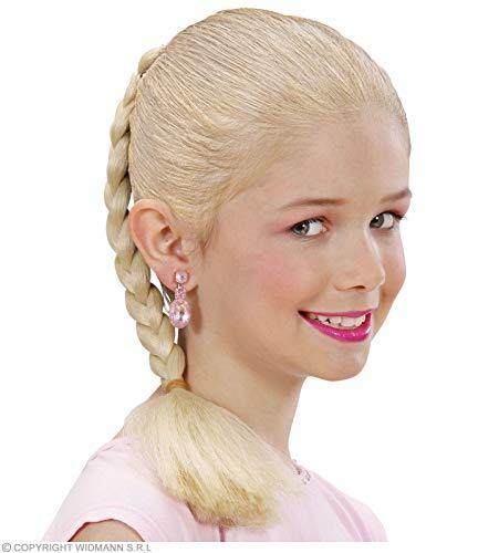 Widmann 5993B Haarverlängerung geflochten, Mädchen, blond, Taglia unica
