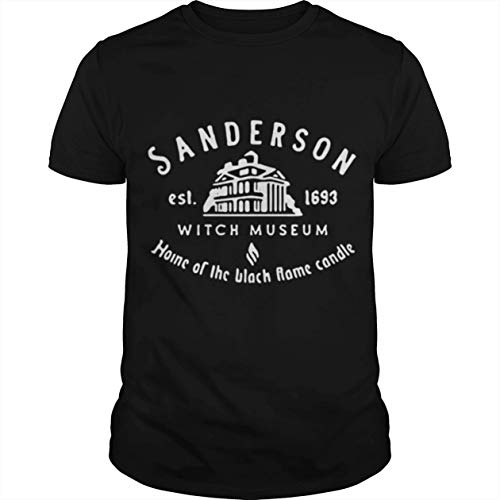 Sanderson Witch Museum Home of The Black Flame Candle Shirt Novelty Birthday Gift Idea
