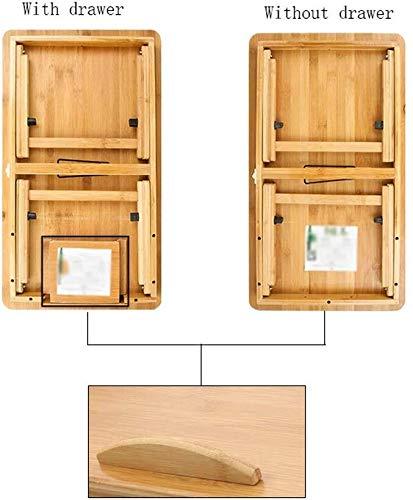 Yxsd Tabla Escritorio del Ordenador portatil pequena Cama Escritorio Escritorio Mesa Plegable Celula compartida Cama Tabla Mini Lazy compartida Multifuncional Mesa elevadora