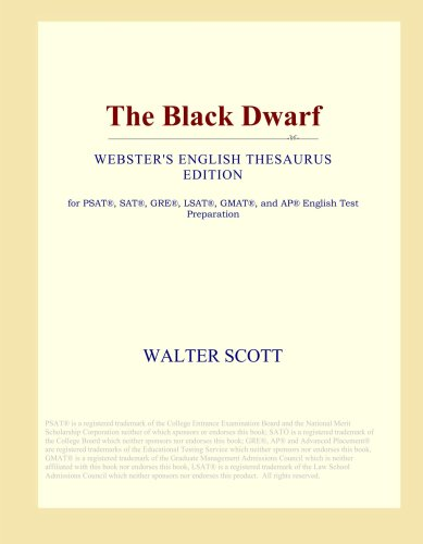 The Black Dwarf (Webster's English Thesaurus Edition)