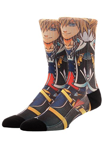 Bioworld Merchandising / Independent Sales Kingdom Hearts Sora Sublimated Socks Standard