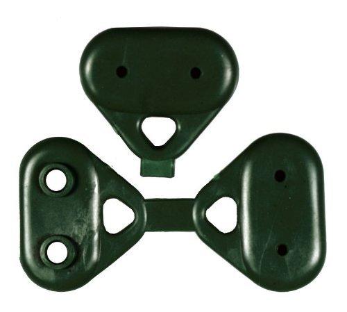 Bottoni di Rinforzo Green Buttons in Pvc per Rete Ombreggiante Cf. 100 Pz