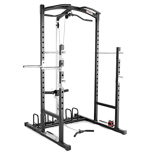 Marcy Home Gym Cage System Workout Station for Weightlifting, Bodybuilding and...