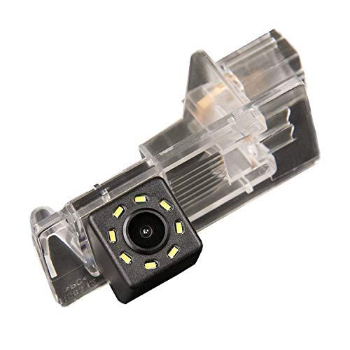 Rückfahrkamera Einparkhilfe Fahrzeug-spezifische Kamera integriert in Nummernschild Licht für Duster Dacia Fluence Scenic 2 II Grand Scenic Symbol Thalia Megane Dacia Lodgy Clio 4 IV Lutecia